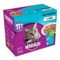 Whiskas 11+ Senior Cat Food Selection Packs