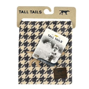 Tall Tails Houndstooth Pet Fleece Blanket