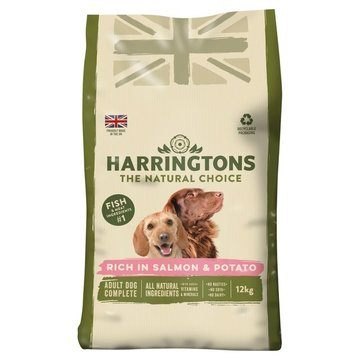 Harringtons Adult Complete Rich in Salmon & Potato Dog Food