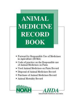 AHDA Animal Medicine Record Book