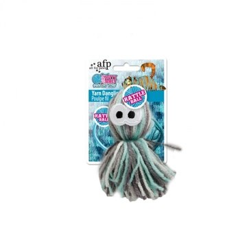 All For Paws Knotty Habit Yarn Dangling Octopus Cat Toy