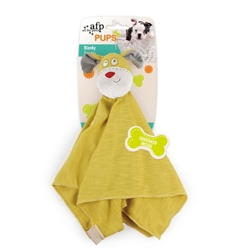 All For Paws Pups Blanky Dog Toy