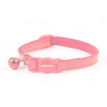 Ancol Safety Buckle Reflective Gloss Cat Collar