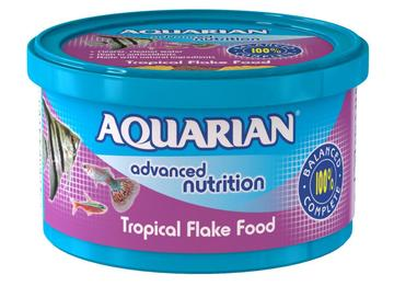 Aquarian Tropical Flake Aquarium Food