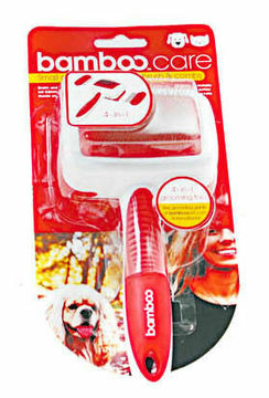 Bamboo Small Dog & Cat Double Sided Brush