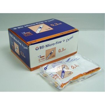 BD Microfine Insulin Syringes (100 i.u. per ml)