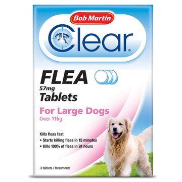 Bob Martin Clear Flea Tablets for Dogs & Cats
