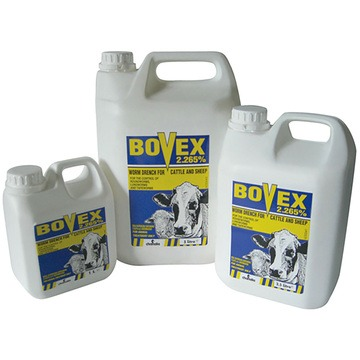 Bovex 2.265% Worm Drench for Cattle & Sheep