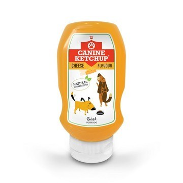 Canine Ketchup for Dogs Cheese Flavour