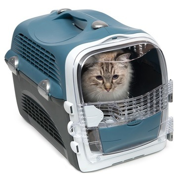 Catit Cabrio Cat Carrier Blue Grey