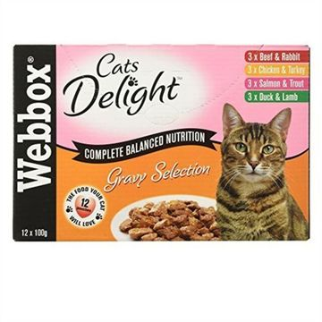 Webbox Cats Delight Pouches Cat Food