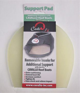 Cavallo Horse Hoof Boot Support Pads