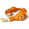 Classic Chicken Leg Rope Dog Toy