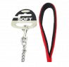 Classic Soft Protection Red Chain Dog Lead