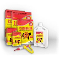 CLOSAMECTIN POUR-ON FOR CATTLE