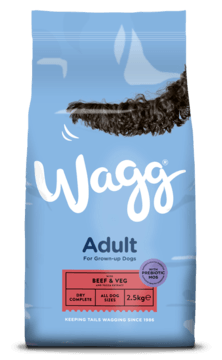 Wagg Complete Adult with Beef & Veg Dry Dog Food