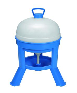 Copele Poultry Drinker with Legs Blue