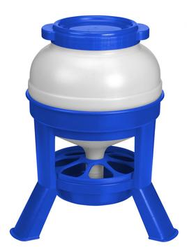 Copele Poultry Feeder with Legs Blue