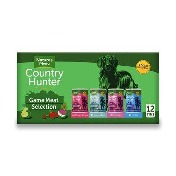 Country Hunter Game Meat Selection Dog Food