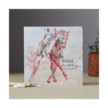 Deckled Edge Fanciful Dolomite Card