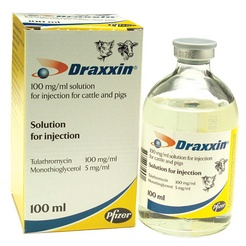 Draxxin 100 mg/ml solution for injection