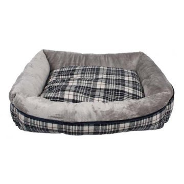 Dream Paws Check Pet Sofa Bed