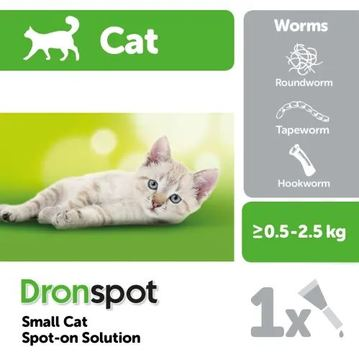 Dronspot Small Cat Wormer