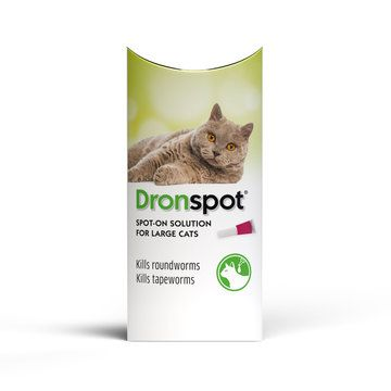 Dronspot Spot On Wormer for Large Cats (5 to 8kg)
