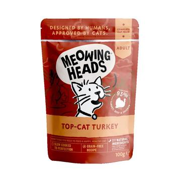 Meowing Heads Top Cat Turkey Cat Food