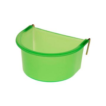 Eton Green Plastic Hook on D-Cup with Metal Hooks