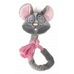 FOFOS Eye Mouse Rope Dog Toy
