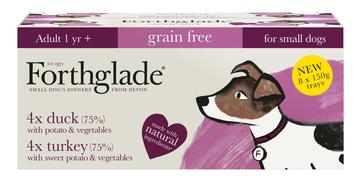 Forthglade Complete Turkey & Duck Small Breed Dog Food