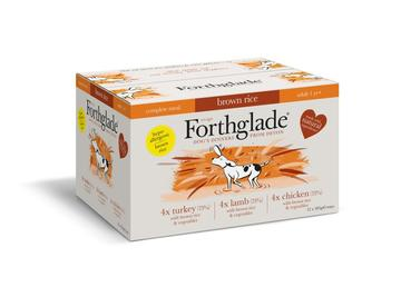 Forthglade Complete Variety Pack with Brown Rice Dog Food