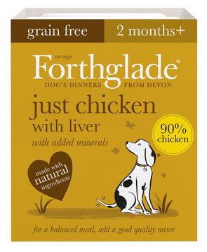 Forthglade Just Chicken with Liver Grain Free Dog Food