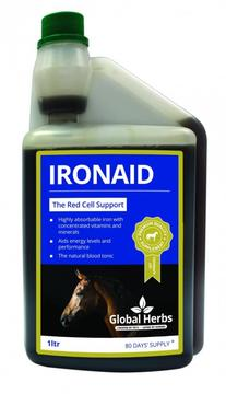 Global Herbs IronAid for Horses
