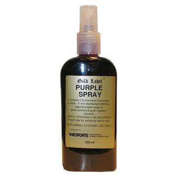 Gold Label Purple Spray for Horses