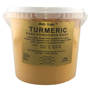 Gold Label Turmeric Food Supplement