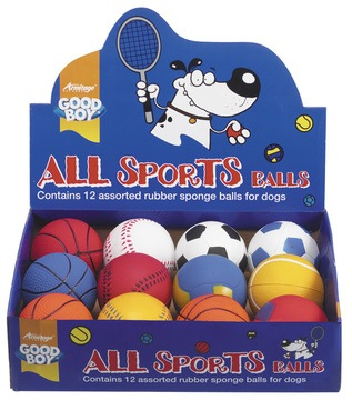 Good Boy All Sports Balls Dog Toy