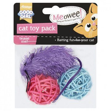 Good Girl Meowee Cat Toy Pack