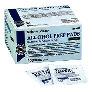 Henry Schein Alcohol Prep Pads