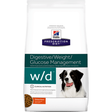 Hill's Prescription Diet w/d Digestive/Weight/Diabetes Management with Chicken Dog Food