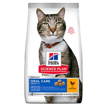 Hill's Science Plan Adult Oral Care Chicken Cat Food