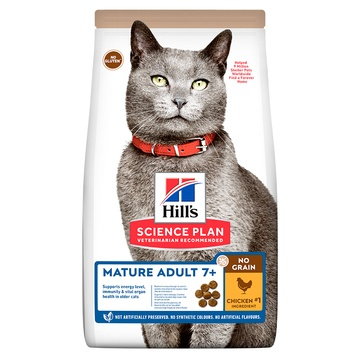 Hill's Science Plan No Grain Mature Dry Cat Food
