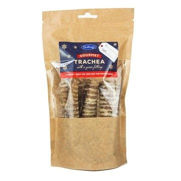 Hollings Festive Gourmet Trachea for Dogs