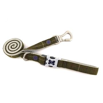 Hugo & Hudson Tweed Dog Lead