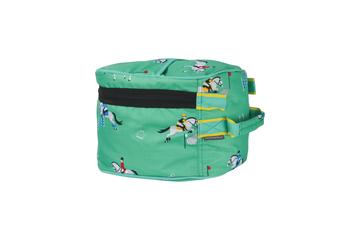 Hy Equestrian Competition Ready Hat Bag Green & Yellow