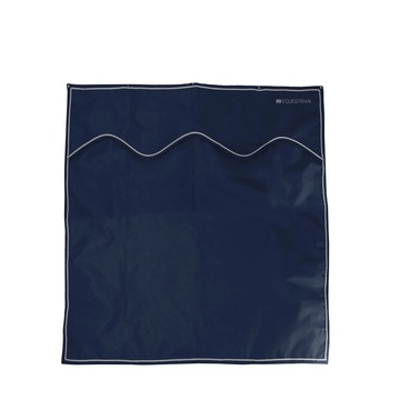Hy Equestrian Stable Drape Navy/Grey