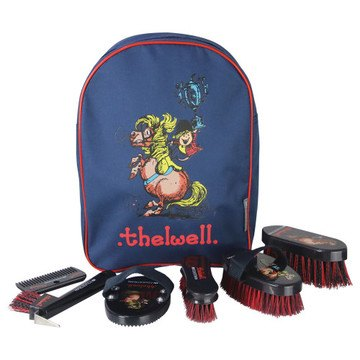 Hy Equestrian Thelwell Collection Complete Grooming Kit Rucksack