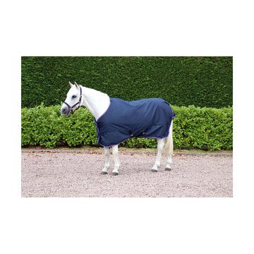 Hy Signature Navy, Red & Blue Lightweight 100g Turnout Rug