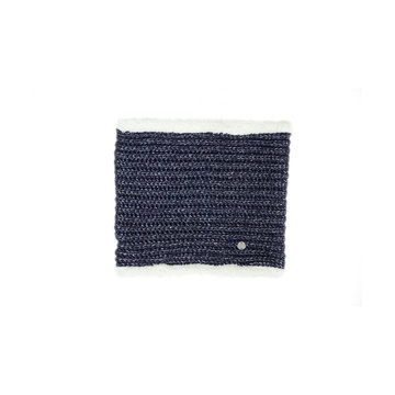 HyFASHION Avoriaz Navy Metallic Snood